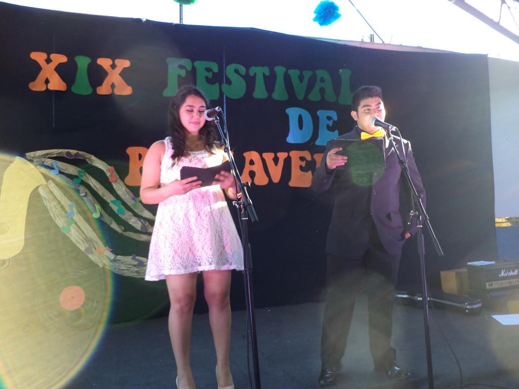 Francisca Fariña y Diego Contreras