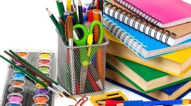 Listas de útiles escolares 2019
